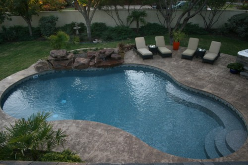 Pool Installation Picures From Hill Pools And Spas
